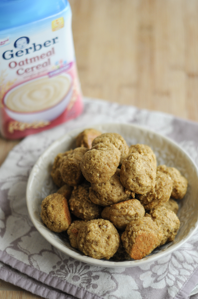 Oatmeal Peach Drop Biscuits #CookingWithGerber @heathersdish @KendalKingGroup @TheWomenBloggers