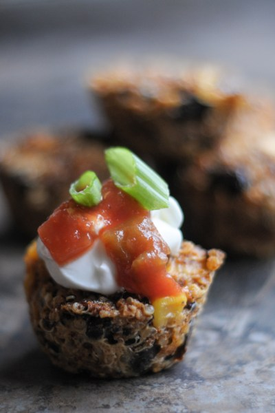 Tex-Mex Quinoa Bites