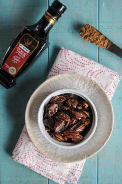 Balsamic Glazed Pecans