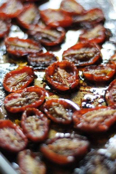 Honey Balsamic Roasted Tomatoes