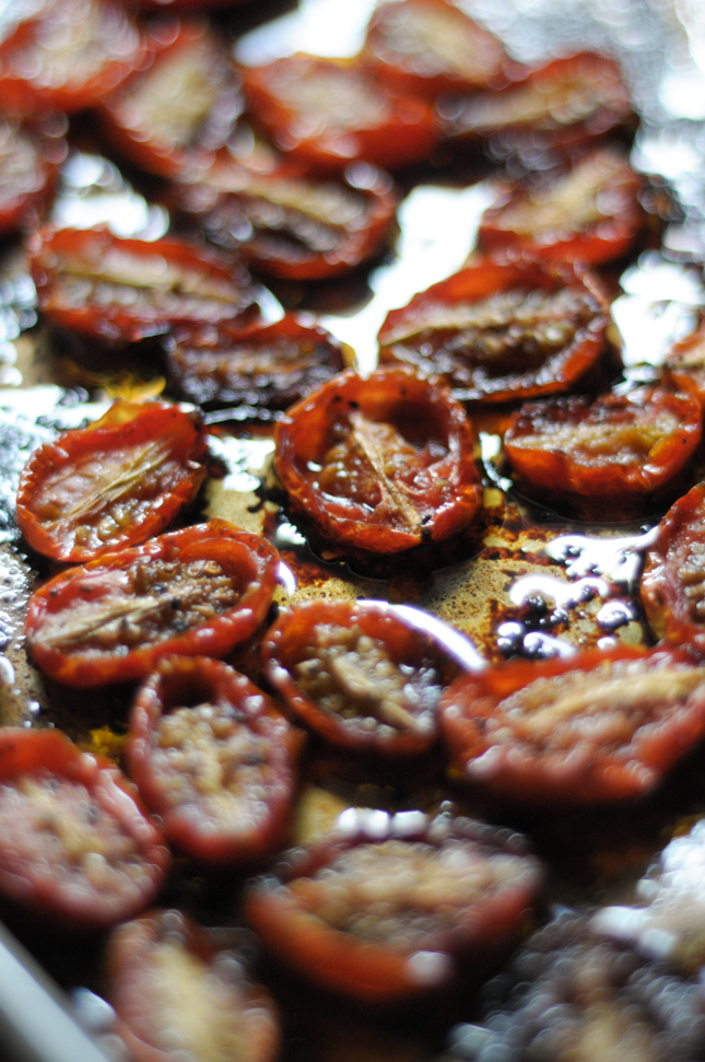 Honey Balsamic Roasted Tomatoes are the perfect side dish, salad topping, or otherwise delicious accompaniment to any meal!