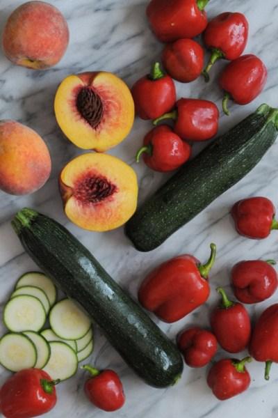 End of Summer Farmer's Market Ricotta Pies