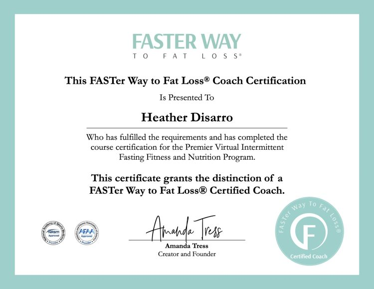 Heather Disarro - FASTer Way to Fat Loss®️ Coach