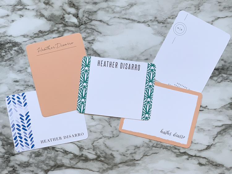 Show the Love with Truly Custom Stationary - graduation announcements, custom stationary and more are easy to make from @BasicInvite! #sponsored @heathersdish