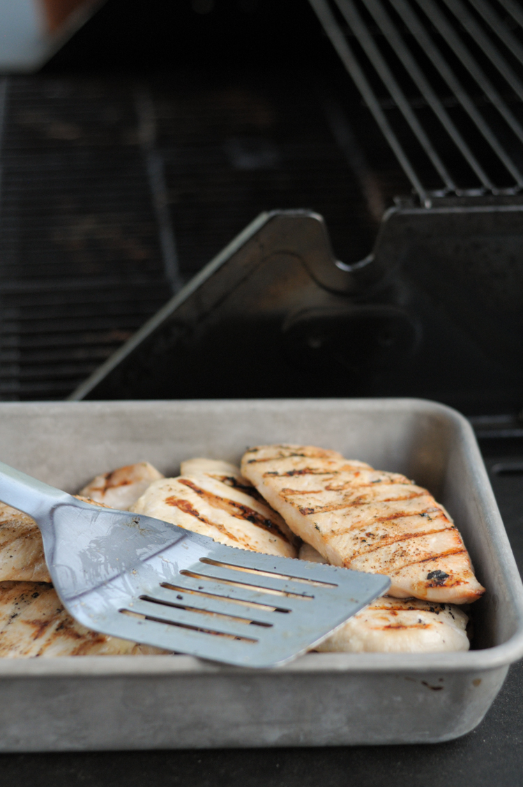 Exactly How I Brine and Grill My Chicken in Bulk - a flavorful and easy way to enjoy grilled chicken any time you want. @heathersdish @heathereatshealthy