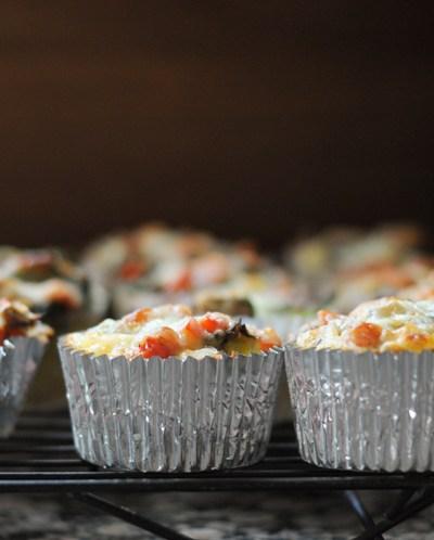Florentine Egg Muffins + Produce for Kids @produceforkids @heathersdish #sponsored