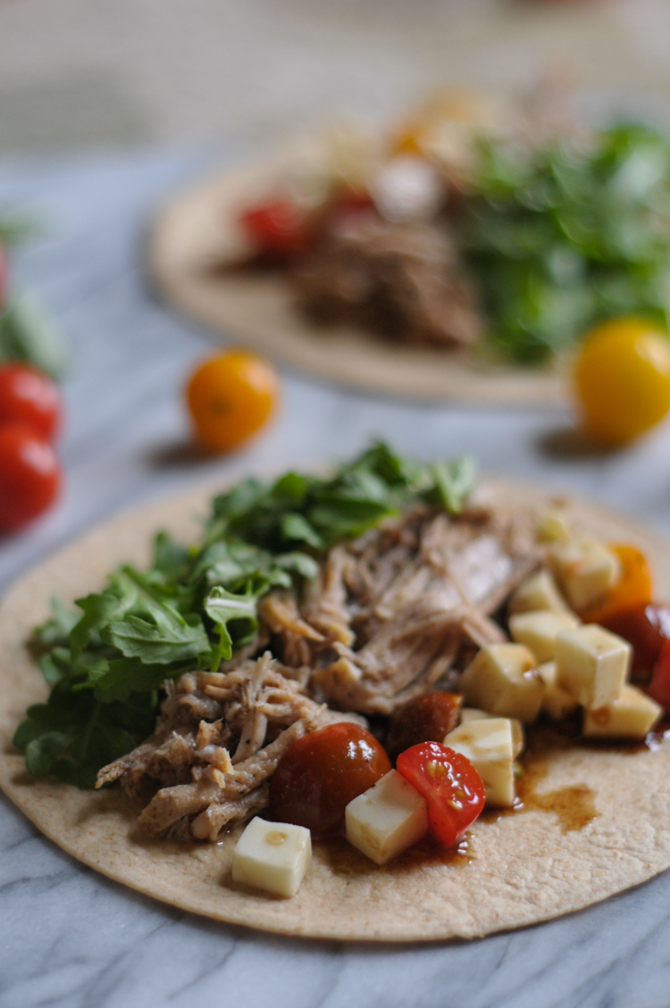 Italian Pulled Pork Tacos with @denigris1889 and @heathersdish