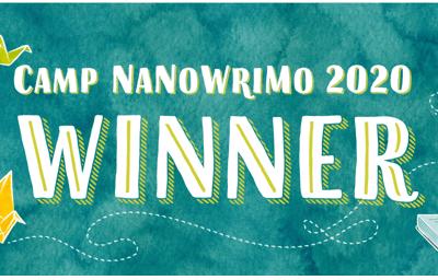 CampNaNo, April 2020: Victory!