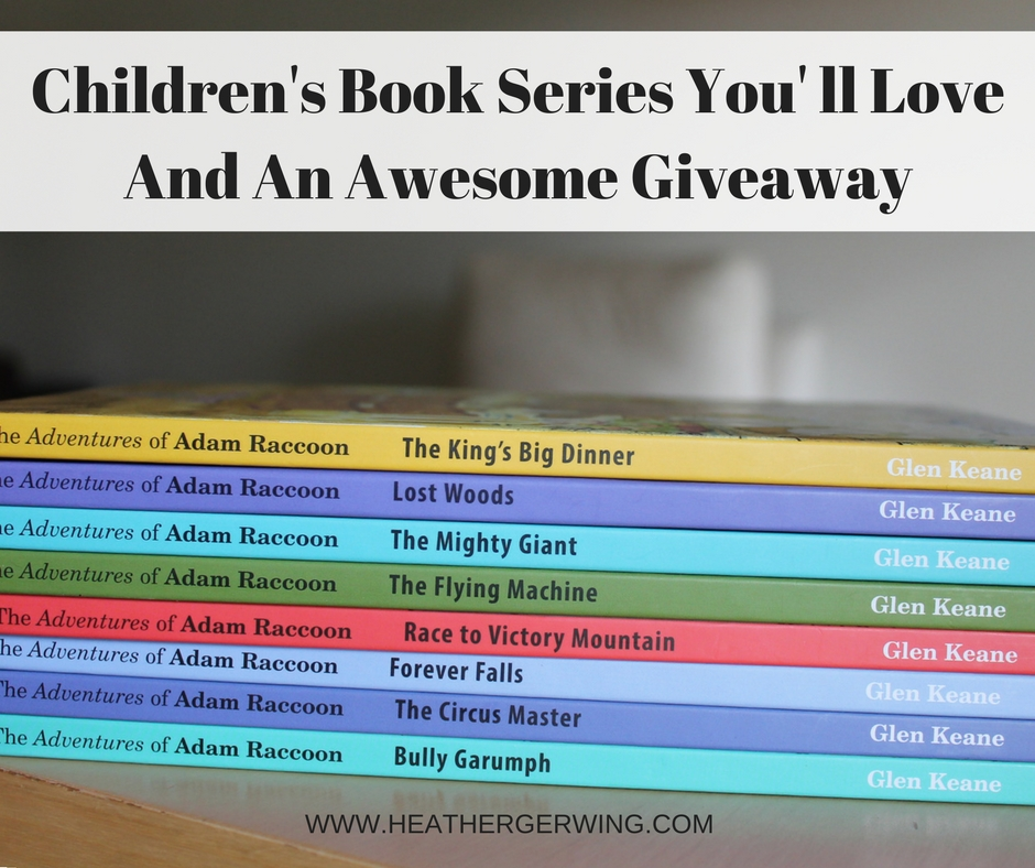 Children's Book Series You' ll Love And An Awesome Giveaway
