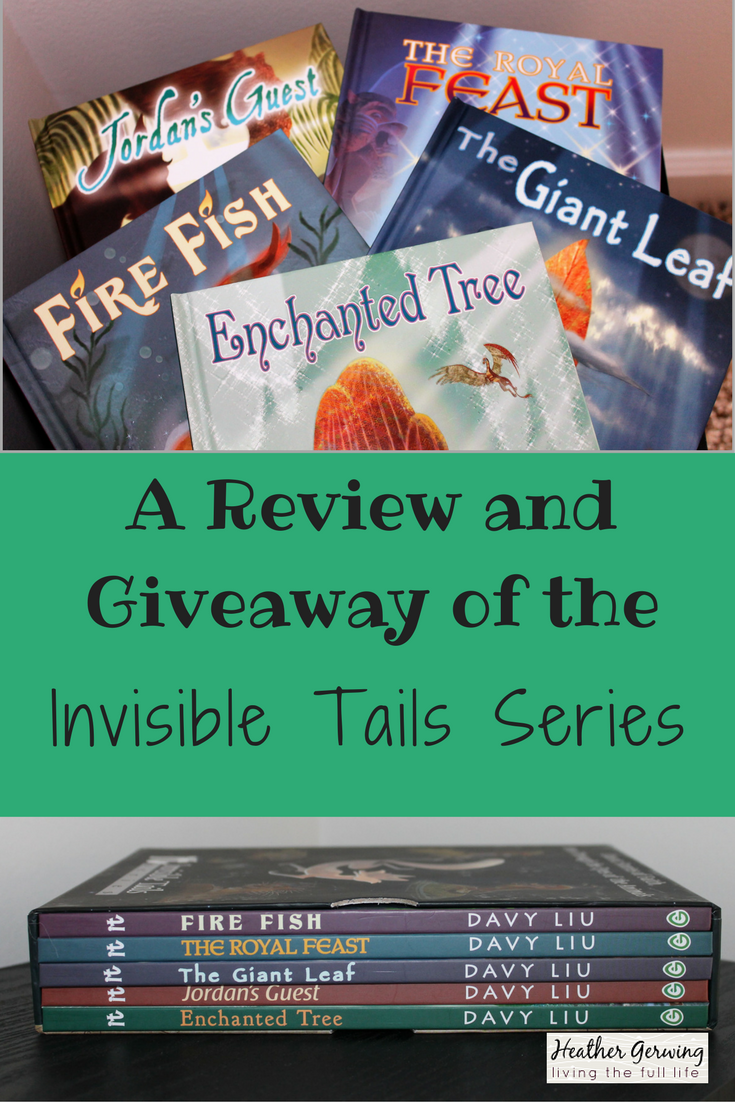 A Review and Giveaway of the Invisible Tails Series