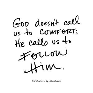 Follow Him - Cultivate