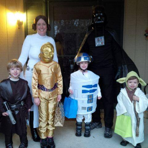 Happy Halloween! Family Star Wars Costume