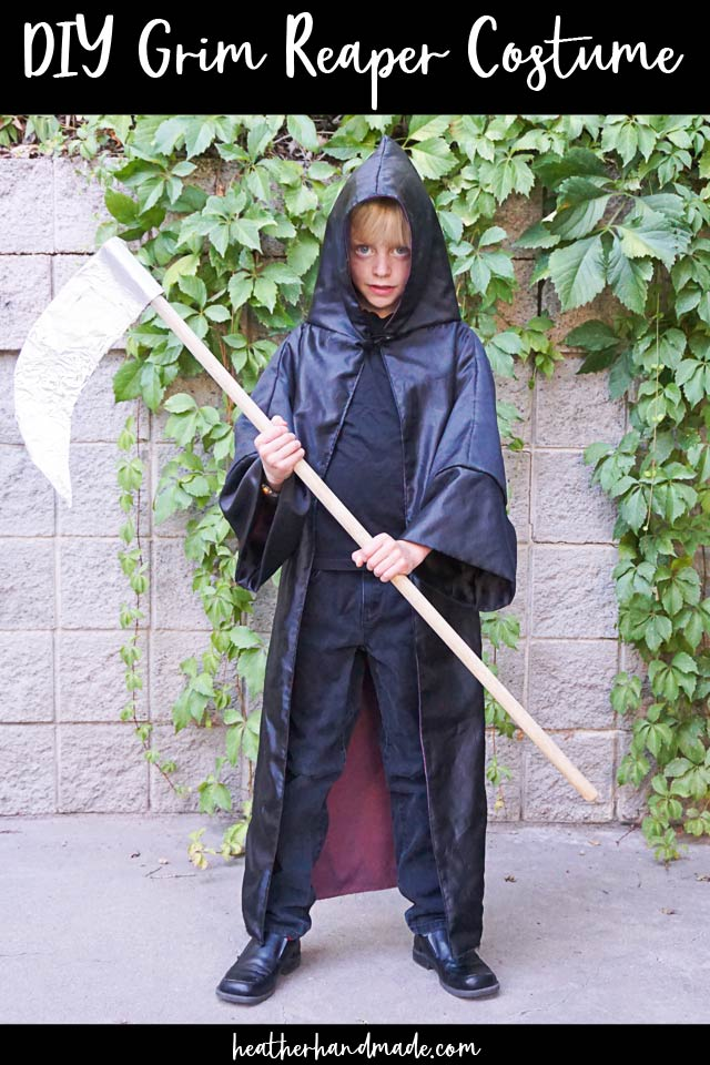 Grim Reaper Costume DIY Sewing Tutorial