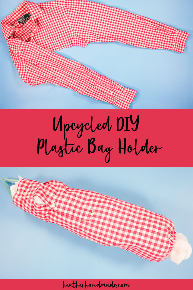 Plastic Bag Holder from a Shirt Sleeve - DIY Sewing Tutorial