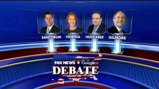 6th GOP Debate Undercard Fox