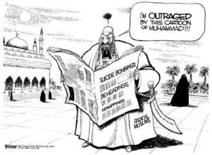 Cartoon Outrage