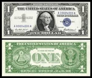 $1 Silver Certificate, Series 1957