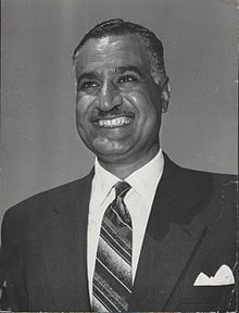 President Nasser of Egypt