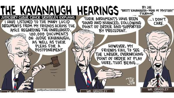 Cartoon: The Kavanaugh Hearings