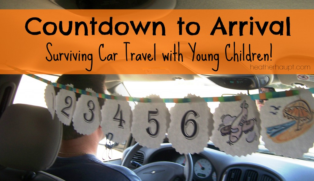 Surprise your kids with something new each hour to help pass the time in the car!