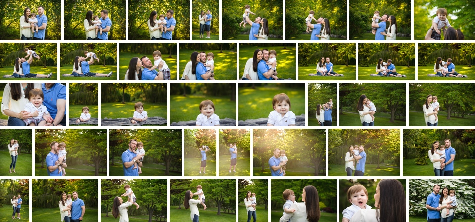 how to choose a family photographer full family session gallery