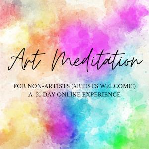 Watercolors Art Meditation Online Course
