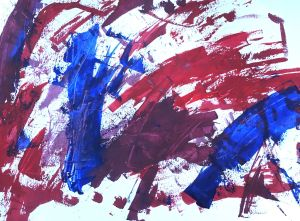 abstract painting online course exercise