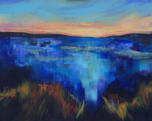 Sunrise on lagoon 2