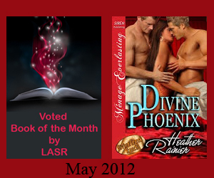 Divine Phoenix BoM May 2012 Erotic banner
