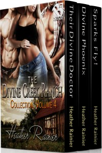 Book Cover: Coming 11/21/17: The Divine Creek Ranch Collection Boxed Set - Volume 4