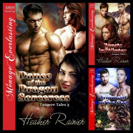Books in the Tangere Tales Trilogy by Heather Rainier