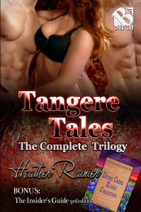 Book Cover: Tangere Tales Trilogy in Combined Paperback