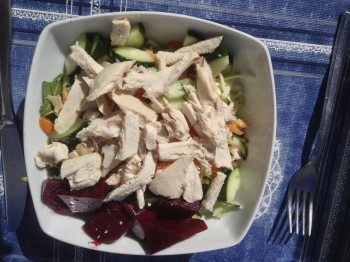 Chicken Breast Salad 200 Kcal