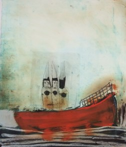 Monoprint, Collection of Maine College of Art