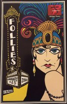 Playbill from the Michigan Theater 2003 performance of Follies