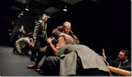 Scene from Incident at Vichy at Redtwist Theatre (photo by director Ian Frank)