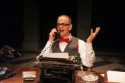 Philip Earl Johnson in American Blues Theater's The Columnist
