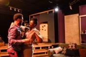 Jeffery Owen Freelon Jr. and Tiffany Oglesby in New Colony's The Light