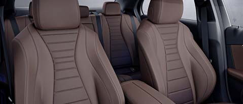 eclass taxi Interior leather seats
