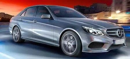 E Class Taxi Mercedes Benz Chauffeur Driven Hire Car