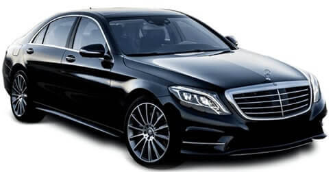 black mercedes benz s class professional chauffeur services