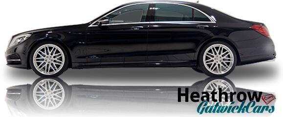 black s class mercedes chauffeur hire london
