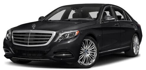 mercedes benz s class vip black car service