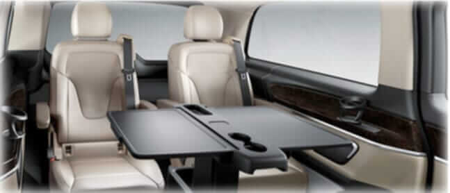 mercedes benz v class 5 seater interior