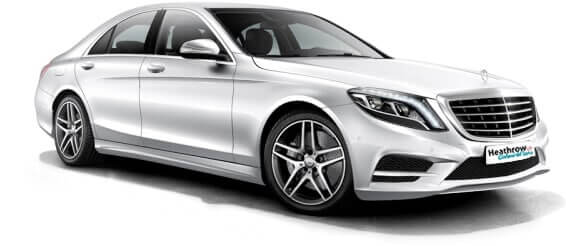 s class taxi chauffeur driven cars london