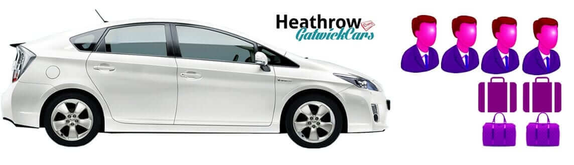 Minicab transfer heathrow to gatwick