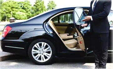 S Class Mercedes car and private chauffeur