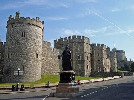 Windsor Castle Berkshire England UK