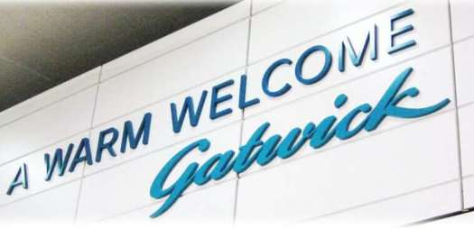 a warm welcome to London Gatwick airport
