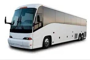 Large Interstate Tour Bus